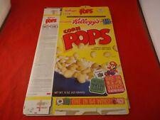 Super Mario 64 Nintendo 64 N64 Kellogg's Corn Pops Cereal Promo