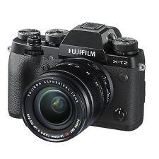 Fuji Fujifilm X-T2 Bundle w/18-55 F/2.8-4 w/FREE Extra Fujifilm NP-W126S *NEW*