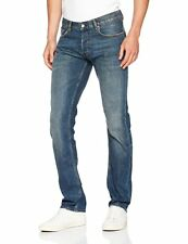 Teddy Smith Men's Reg Iconic Straight Jeans in blue waist 27 leg 34 new