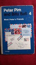 """Englisch-Schulbuch """"Peter Pim and Billy Ball"""", No.4, Meet Peter´s Friends, 1967"""