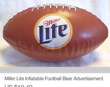 Miller Lite Inflatable Football Beer Advertisement