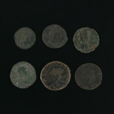 Ancient Coins Roman Artifacts Figural Mixed Lot of 6 B6363