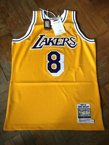Kobe Bryant Los Angeles Lakers Mitchell And Ness 1996-97 Authentic Jersey