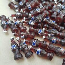 100 PEPSI Bottle Dollhouse Miniature Food Soda Beverage Drink Tiny Wholesale Lot
