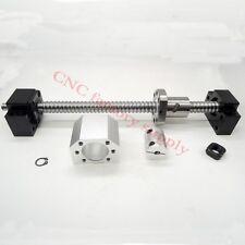 Ballscrews SFU 1605 set L500mm -C7 with nuts+BK12 / BF12 End+Coupler+support