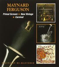 MAYNARD FERGUSON - PRIMAL SCREAM/NEW VINTAGE/CARNIVAL 2 CD NEU