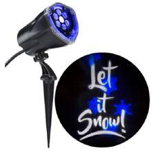 LightShow Projection Multi-function White/Blue Led Multi-design Christmas