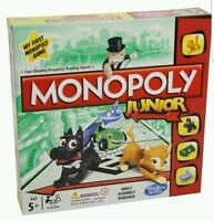 NEW Hasbro Monopoly Junior Board Game FUN POPULAR OFFICIAL XMAS GIFT