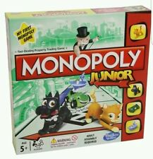 Hasbro Monopoly Junior Board Game GAME GIFT NEW