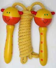 Kinder Springseil Sprungseil in verschiedenen Design mit Holzgriff Hüpfseil