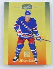 1996-97 Leaf Limited Gold #82 Brian Leetch Hockey Card NY Rangers