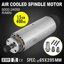 CNC 1.5KW Air Cooled Spindle Motor ER11 Grinding Mill Grind 220V~250V EXCELLENT