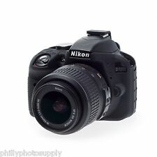 easyCover Armor Protective Skin for Nikon D3400 Black ->Free US Shipping!