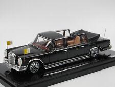 1 43 True Scale MERCEDES 600 Landaulet Papst Paul VI 1965 Black