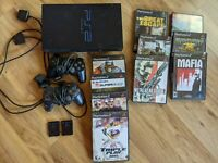 Sony Playstation 2 PS2 Console Controllers Games Memory Cards SCPH-30001