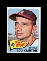 1965 Topps Baseball #229 Lou Clinton (Angels) NM