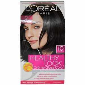 L'Oreal Paris Healthy Look Creme Gloss Color Black 2