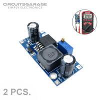 2 x LM2596S DC-DC 3A Step Down Variable Buck Converter power Supply Module - USA