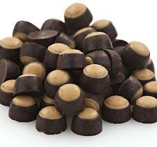 SweetGourmet Mini Dark Chocolate Peanut Butter Buckeyes - 1 LB FREE SHIPPING!