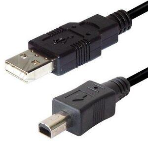 1.8m 6ft USB 2.0 cable olympus CB-USB1 & kodak U-4 & konica minolta USB-100