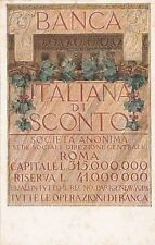 6580) BANCA ITALIANA DI SCONTO.