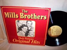 MILLS BROTHERS-THEIR FAMOUS ORIGINAL HITS SUFFOLK SMI 1-84 NM/VG+ LP