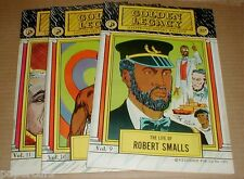 Vintage 1970 Golden Legacy Black African American History Lot unread comic books