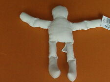 "Lot 6 New Stuffed Natural Muslin Dolls 8"" Tall Doll Body Bodies #1232-33 F/S"