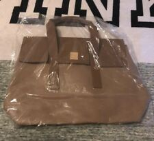 NEW Tanger Outlets 2018 Large Promotional Shopping Tote Purse Bag - Brown