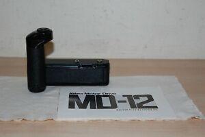 Nikon MD-12 MD12 Motor Drive for FM FM2 FE FE2 - Excellent !!!!