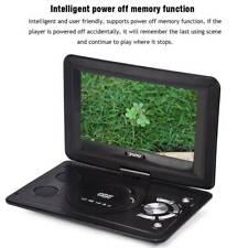 """13.9"""" Tragbar DVD Player 270° Drehbar CD Video Spieler USB/SD für Arbeit SUPER"""