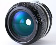[ Mint ]Nikon Ai-S  NIKKOR 28mm f/2.8  Lens  with Metal Hood from Japan