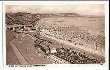 Croyde Bay, Unposted no 1998 PPC, with prewar cars