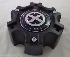 American Racing Wheels ATX Series Flat Black Custom Wheel Center Cap #377B140-6H