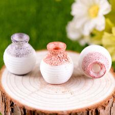 New listing 3 vase Garden Figurine Crafts Micro Landscape Diy Potted decoration Qy