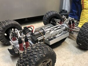 Unlimited Engineering High Voltage Lightning Traxxas E- Maxx UE Lunsford Castle