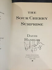 The Sour Cherry Surprise by David Handler Signed Dated 1st! Like New HBDJ 2008