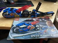 Lego Speed Slammer Bike 8646 Technics Racers - 2005 Complete With Instructions