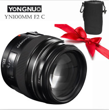 YONGNUO YN100MM F2 AF LENS Large Aperture Medium telephoto Prime For Canon EOS