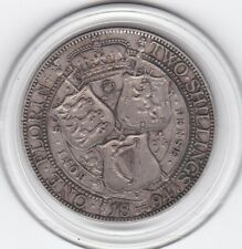 Very  Sharp  1894   Queen  Victoria    Florin   (2/-)   Sterling  Silver   Coin