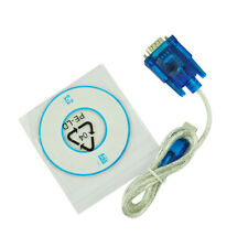 2x(USB zu RS232 SERIAL Adapter Kabel DB9 PIN 340 GY