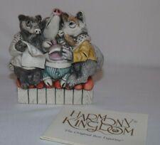 Harmony Kingdom Box Figurine House Party*Adam Binder*Treasure*Pig*Skunk *England