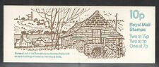 GB Folded Stamp Booklet FA9 1979 Farm Buildings Series No. 6 SUSSEX