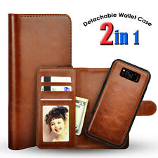 For Samsung Galaxy S9 S8 S7 Edge Flip Card Leather Wallet Stand Phone Case Cover