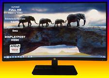 HP 27x 1at01aa (27 pulgadas, FHD, curved) monitor Av panel, 144 Hz, HDMI & DP 1.2