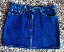 Jasper Conran. Blue Denim Mini Skirt