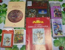 78 CARTE +52 CARTE SIBILLA e GUIDA +L'OMBRA DELLO ZODIACO+IL LIBRO DEI TAROCCHI
