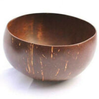 Fruit Coconut Rice Bowl Handicraft Decoration Noodle Natural Creative Wooden