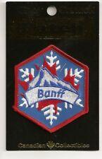 Banff Alberta Canada Souvenir Tourist Patch