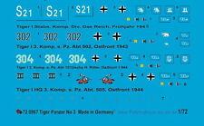 Peddinghaus  1/72 0967 Tiger Panzer 3